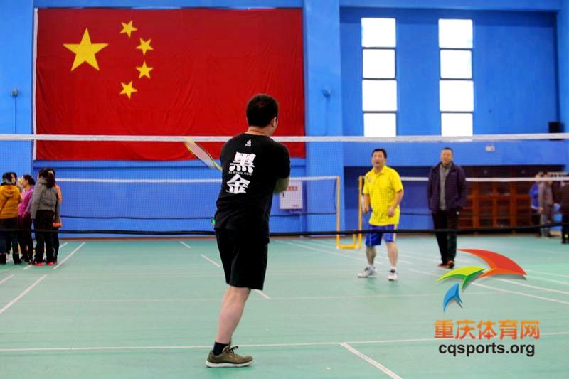 2015九龙坡区第十届运动会羽毛球比赛精彩呈现